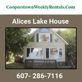 Cooperstown Dreams Park - Alices Lake House