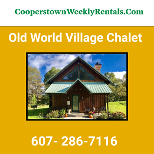 Cooperstown Dreams Park - Old World Village Chalet