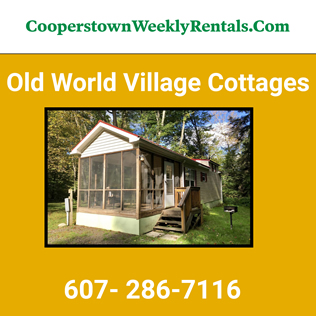 Cooperstown Dreams Park - Old World Village - Cottages