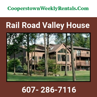 Cooperstown Dreams Park - Rail Road Valley House